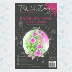 Pink Ink Designs Clear stamp set Rambling Rose PI099