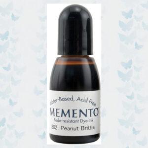 Memento Re-inker RM-000-802 Peanut Brittle