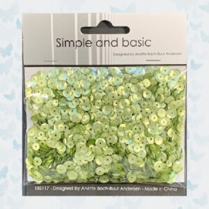 Simple and Basic Green Sequin Mix SBS117