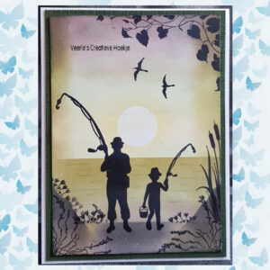 Nellies Choice Clearstempel - Silhouette Klimop SIL079