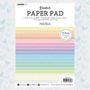 Studio Light Paper pad Essentials Pastels nr.5 SL-ES-PP05 (A5)