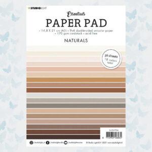 Studio Light Paper pad A5 Essentials Naturals nr.6 SL-ES-PP06