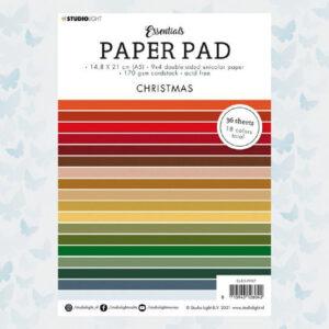 Studio Light Paper pad A5 Essentials Christmas nr.7 SL-ES-PP07