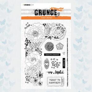 Studio Light Clear Stempel Grunge Collection nr.42 SL-GR-STAMP42/ A5