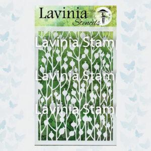 Lavinia Stencil Berry ST001