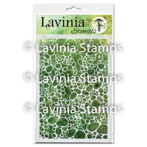 Lavinia Stencil Pebble ST010