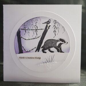 Majemask Stencil Framed Circle STFR-01