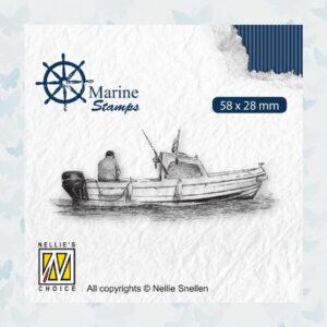 Nellies Choice Clear Stempel - Maritime - Boot VCS001
