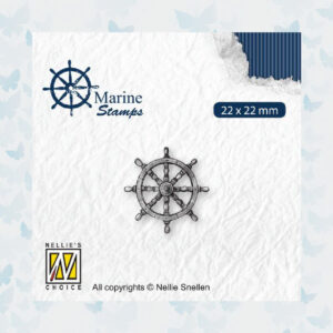 Nellies Choice Clear Stempel - Maritime - Roer VCS002