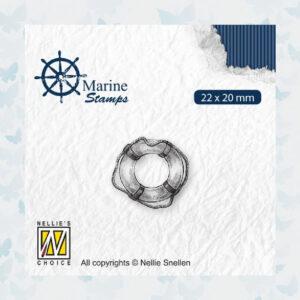 Nellies Choice Clear Stempel - Maritime - Reddingsboei VCS003
