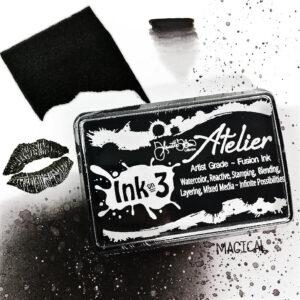 Atelier Paint It Black - Artist Grade Fusion Ink Pad