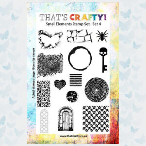 That's Crafty! Clearstamp A5 - Small Elements - Set 4 - 104775
