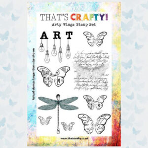 That's Crafty! Clearstamp A5 - Arty Wings 105000