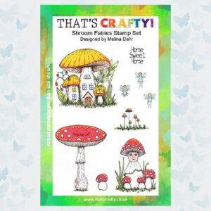 That's Crafty! Clearstamp A5 - Shroom Fairies 105426