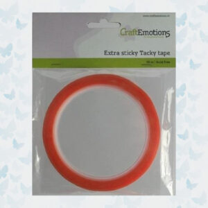 CraftEmotions Extra sticky tape 12 mm 10 MT 1 RL