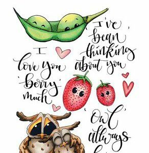 CE clearstamps - Love Puns 1 Carla Creaties 130501/1504