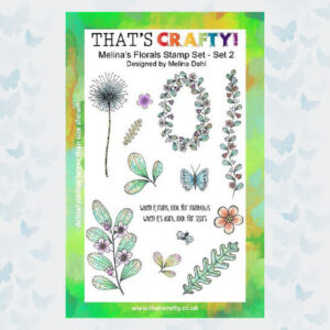 That's Crafty! Clearstamp A5 - Melina's Florals Set 2 - 1755