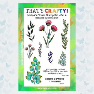That's Crafty! Clearstamp A5 - Melina's Florals Set 4 - 1757