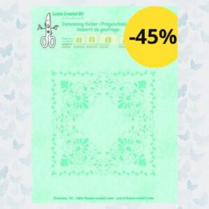 Leane Creatief Embossing Folder Curlicue 35.0690