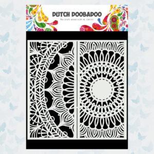 Dutch Doobadoo Dutch Mask Art Slimline Mandala 470.784.006