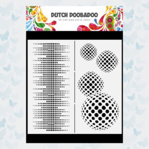 Dutch Doobadoo Dutch Mask Art Slimline Circles 470.784.009