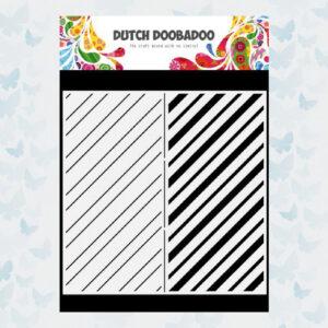 Dutch Doobadoo Dutch Mask Art Slimline Stripes 470.784.010