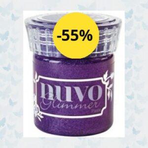 Nuvo glimmer paste - Amethyst Purple 956N