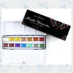 Altenew Metallic Water Color 14 Pan Set ALT3193