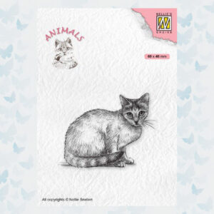Nellies Choice Clearstempel - Kat ANI023