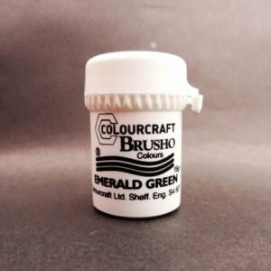 Brusho Emerald Green - Small Size Colours 15g