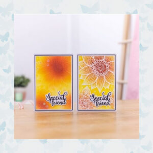 Crafter's Companion Swirling Florals Clear Stamps (CC-STP-SWIF)