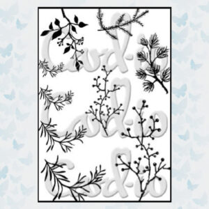 Card-io Clear Stempels Branching Out CCSTBRA-01