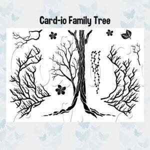 Card-io Clear Stempels Family Tree CCSTFAM-01