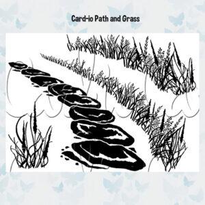 Card-io Clear Stempels Tattered Trail CCSTTAT-01