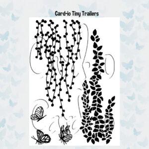 Card-io Clear Stempels Tiny Trailers CCSTTIN-01