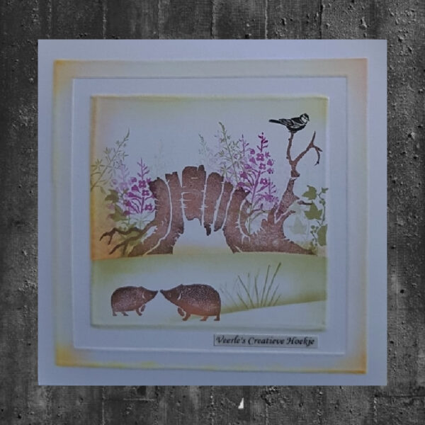 Card-io Clear Stempels Wildflower Woods CCSTWIL-01