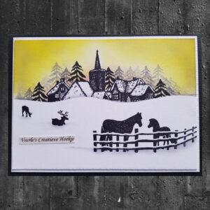 Card-io Clear Stempels Winter Scene CCSTWIN-15