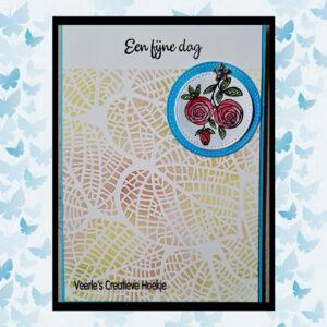 Nellie's Choice Stencil voor Magnetic colour set Bladeren COLST009