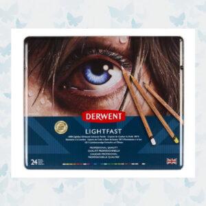 Derwent Lightfast Pencils Blik 24st DLI2302720