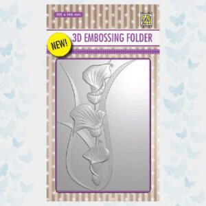 Nellies Choice 3D Emb. folder Aronskelken EF3D004