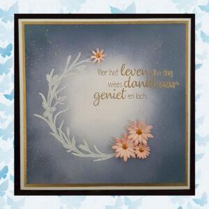 Nellies Choice Clearstempel Flowers - Bloeiend Takje FLO029