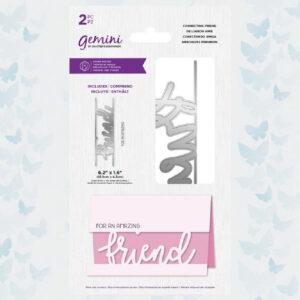 Gemini Connecting Friend Stamp & Die (GEM-STD-CONFRI)