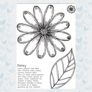 Julie Hickey Clear Stempels Delightful Daisy JH1042