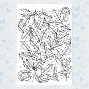 Julie Hickey Clear Stempels Holly Jolly JH1051