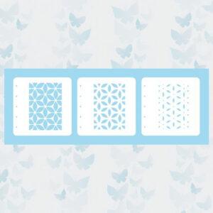 Nellie's Choice Layered combi stencil set (set of 3) Bloem LCSF001