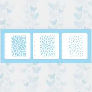 Nellie's Choice Layered combi stencil set (set of 3) Zonnestralen LCSS001