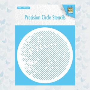 Nellie's Choice Precision Stencils Rond - Vierkanten MMPCS005