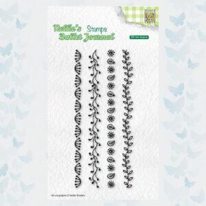 Nellies Choice Clear Stempel - Journal - Randen set2 NBJCS002