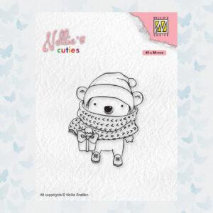 Nellies Choice Clear Stempel - Chris. Cuties - Koala NCCS012