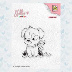 Nellies Choice Clear Stempel - Chris. Cuties - Hond NCCS015
